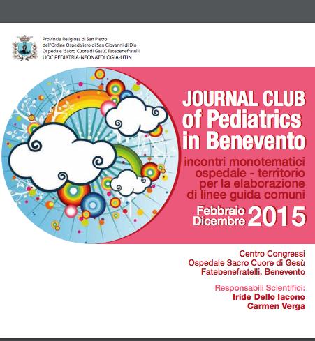 Book Cover: PDT pediatrici - Journal Club of Pediatrics in Benevento