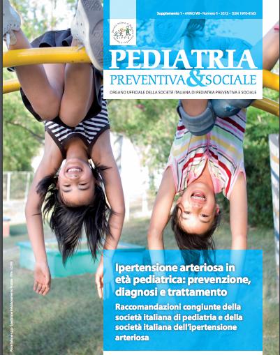 Book Cover: Ipertensione arteriosa in età pediatrica