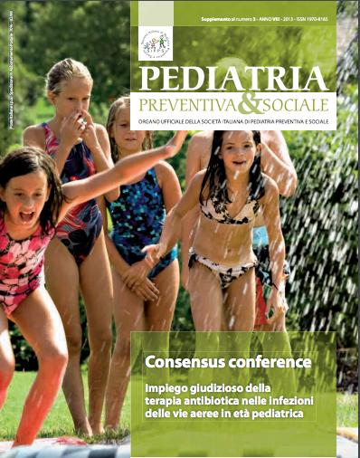 Book Cover: Antibiotici e infezioni vie aeree in età pediatrica