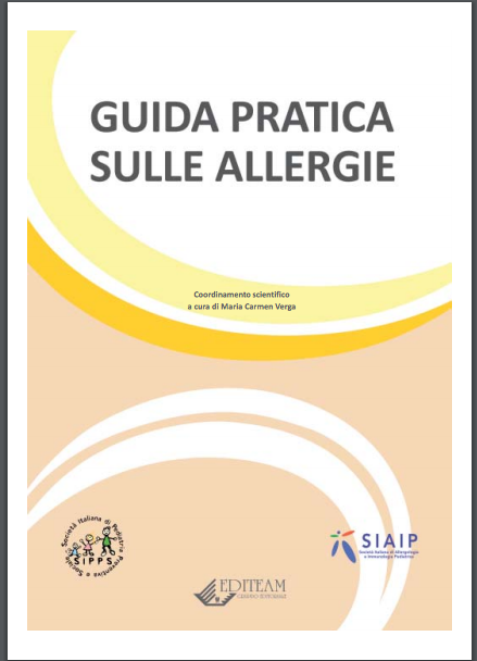 Book Cover: Allergie: guida pediatrica