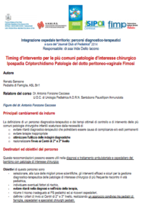 Book Cover: Patologie chirurgiche pediatriche frequenti