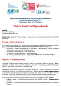 Book Cover: Disturbi dell'apprendimento