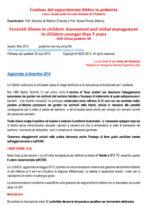 Book Cover: Sintomo febbre in pediatria