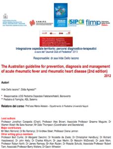 Book Cover: Malattia reumatica in età pediatrica