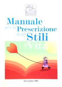 Book Cover: Manuale prescrizione stili di vita