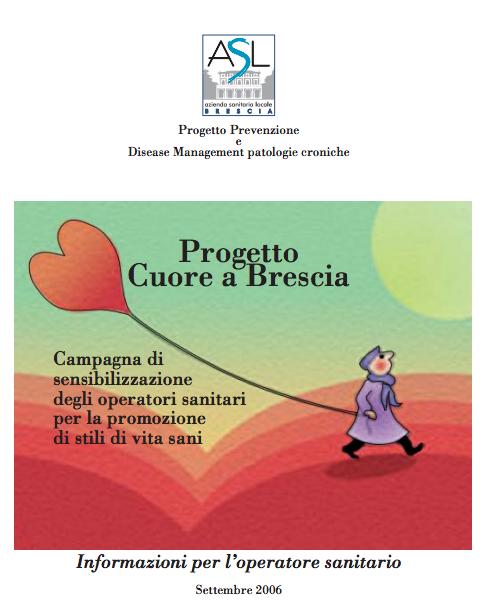 Book Cover: Campagna sensibilizzazione operatori sanitari  per promuovere stili di vita sani