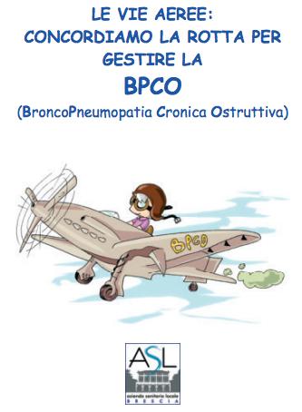 Book Cover: BPCO: manuale di educazione terapeutica