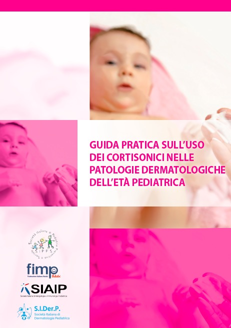 Book Cover: Cortisonici e patologie dermatologiche in età pediatrica