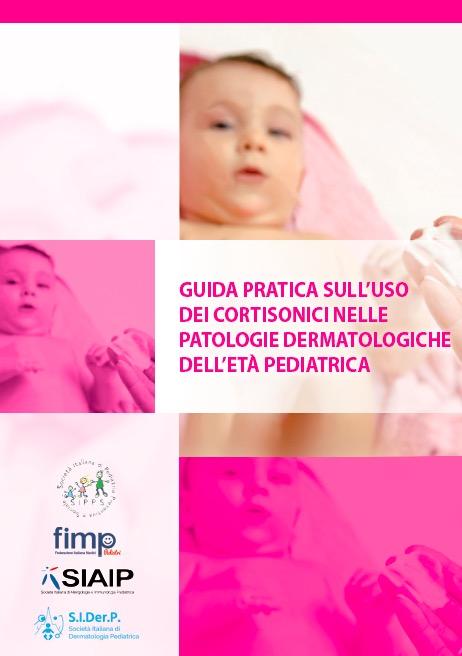 Book Cover: Cortisonici e patologie dermatologiche in età pediatrica