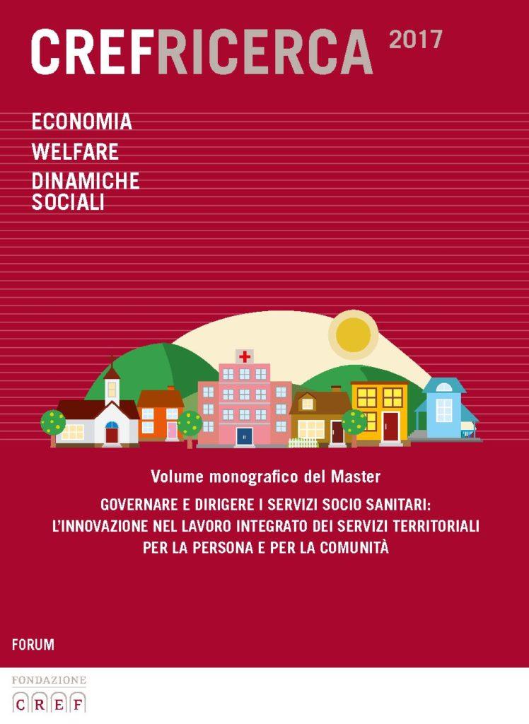 """Book Cover: Master """"Governare e dirigere i Servizi Socio-Sanitari"""" di Udine"""