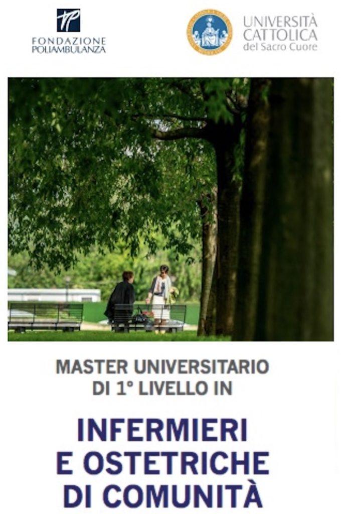 Book Cover: Master sull'Assistenza Primaria dell'Università Cattolica a Brescia
