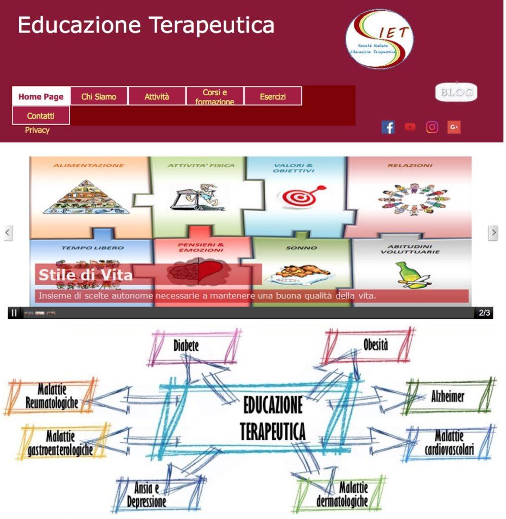 Book Cover: Società Italiana Educazione Terapeutica