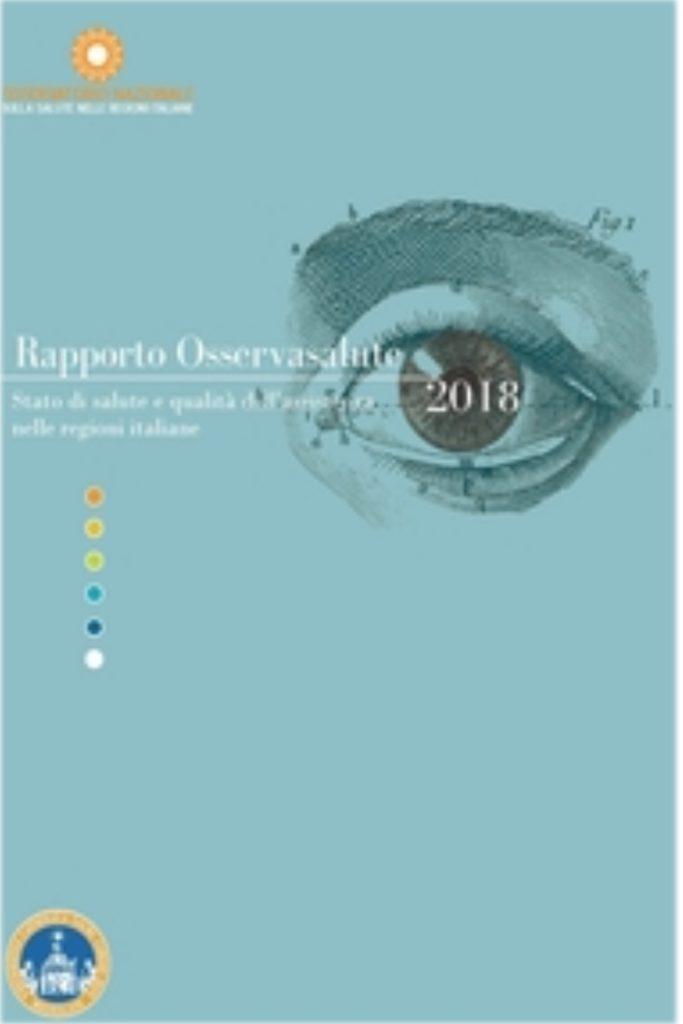 Book Cover: Rapporto Osservasalute 2018