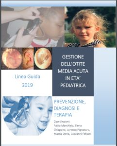 Book Cover: Otite media acuta in età pediatrica