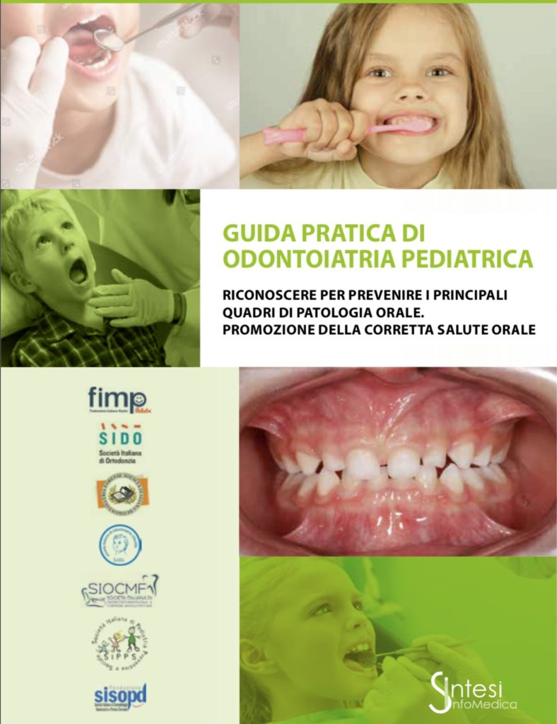 Book Cover: Guida pratica di odontoiatria pediatrica