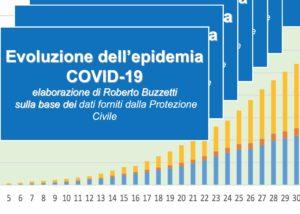 Book Cover: Evoluzione dell'epidemia COVID-19