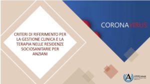 Book Cover: Emergenza COVID: Gestione clinico-terapeutica in RSA