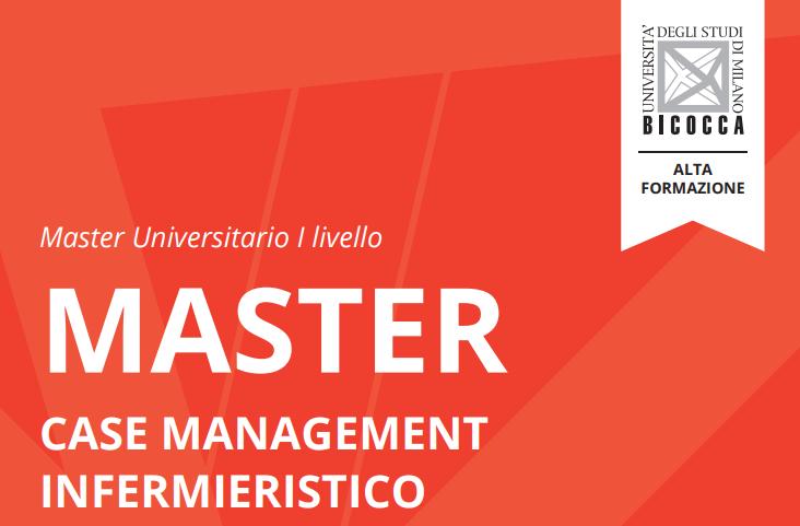 """Book Cover: Master """"Case management infermieristico"""" di Milano Bicocca"""