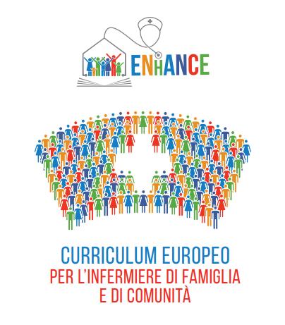 Book Cover: PROGETTO ENhANCE: Curriculum Europeo per l'Infermiere di Famiglia e di Comunità