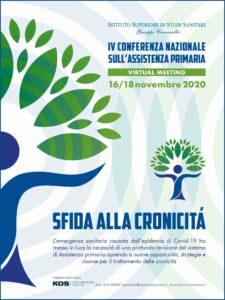 Book Cover: IV Conferenza Nazionale sull'Assistenza Primaria - Sfida alla cronicità