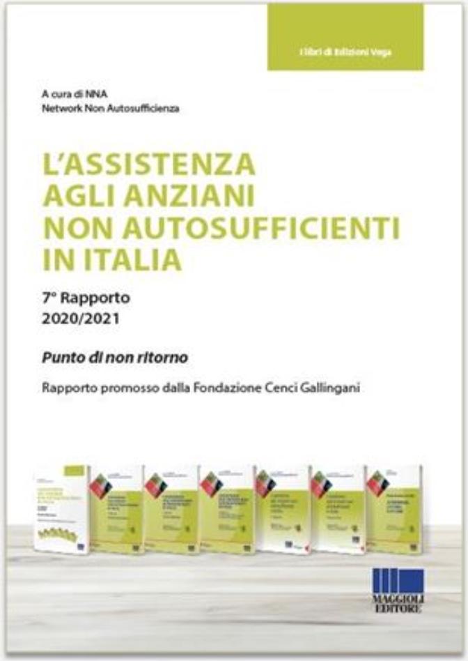 Book Cover: Assistenza agli anziani non autosufficienti in Italia: i rapporti NNA