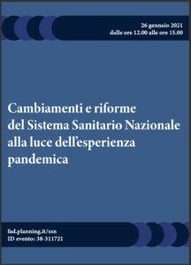Book Cover: Rivoluzione COVID - Cambiamenti e riforme del SSN ai tempi della pandemia