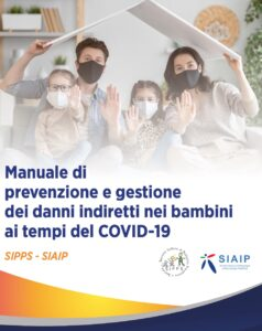 Book Cover: Prevenzione e gestione dei danni indiretti nei bambini ai tempi del COVID