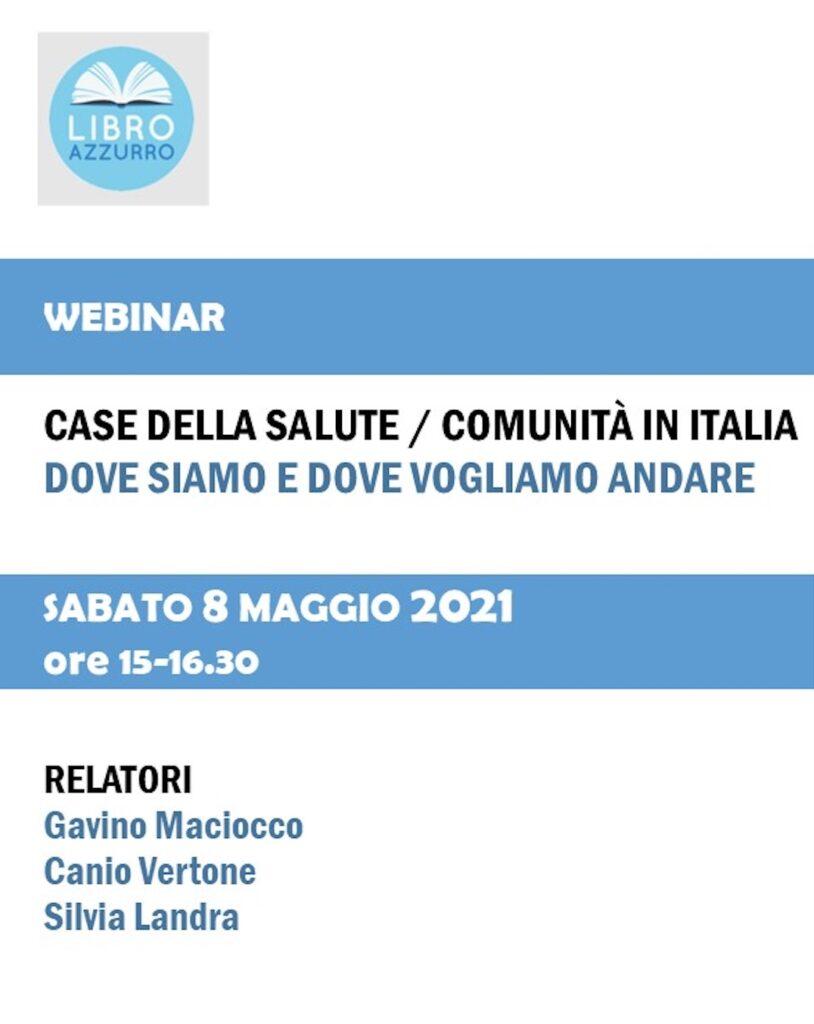 Book Cover: Case della Salute/Comunità in Italia: dove siamo e dove vogliamo andare