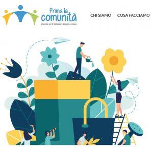 Book Cover: Prima la Comunità
