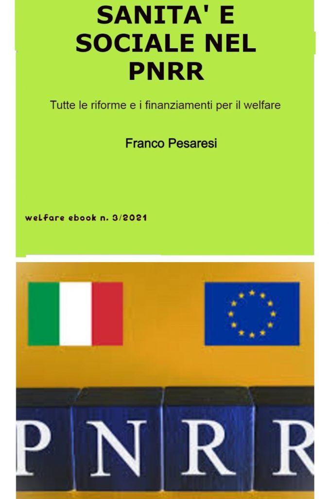 Book Cover: Sanità e sociale nel PNRR
